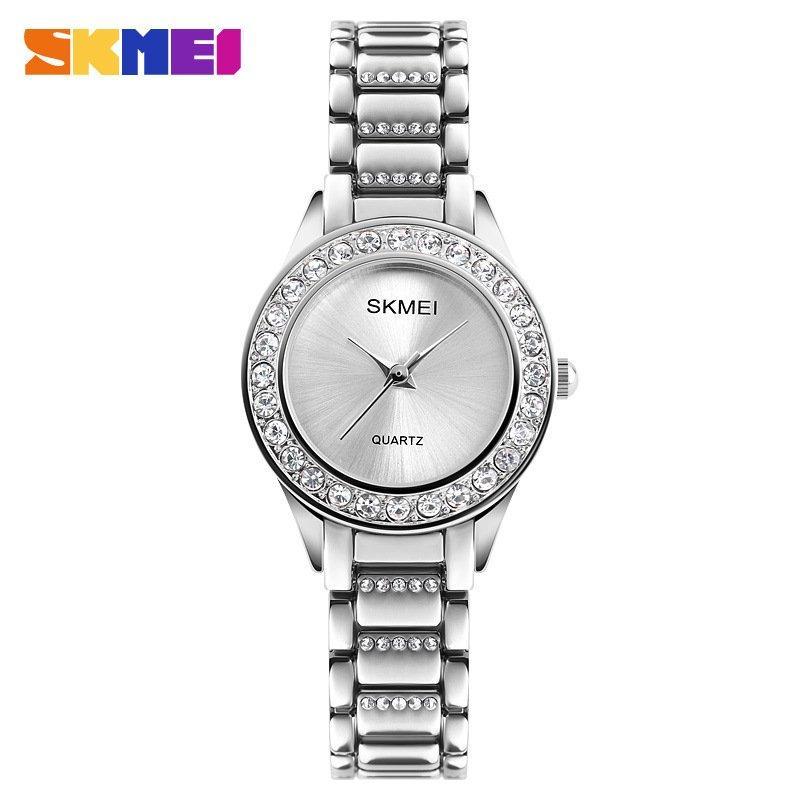 Наручные женские часы Skmei 1262 Silver