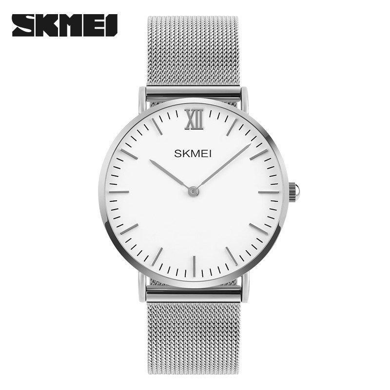 Наручные мужские часы Skmei 1181 Silver-White