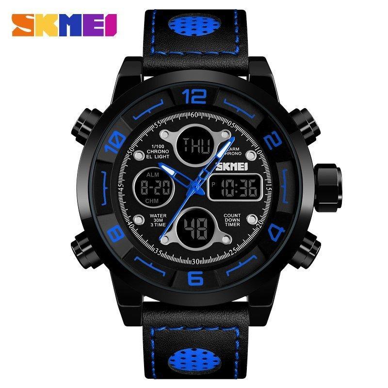 Наручные мужские часы Skmei 1371 Black-Blue