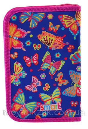 "Пенал твёрдый с одним клапаном HP-03 ""Butterfly dance"" «Smart» 532051, фото 2"