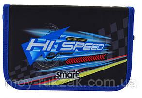 """Пенал твёрдый с одним клапаном HP-03 """"Hi Speed"""" «Smart» 532053, фото 2"""