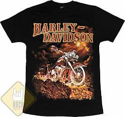 Футболка Harley-Davidson - лава, Размер S