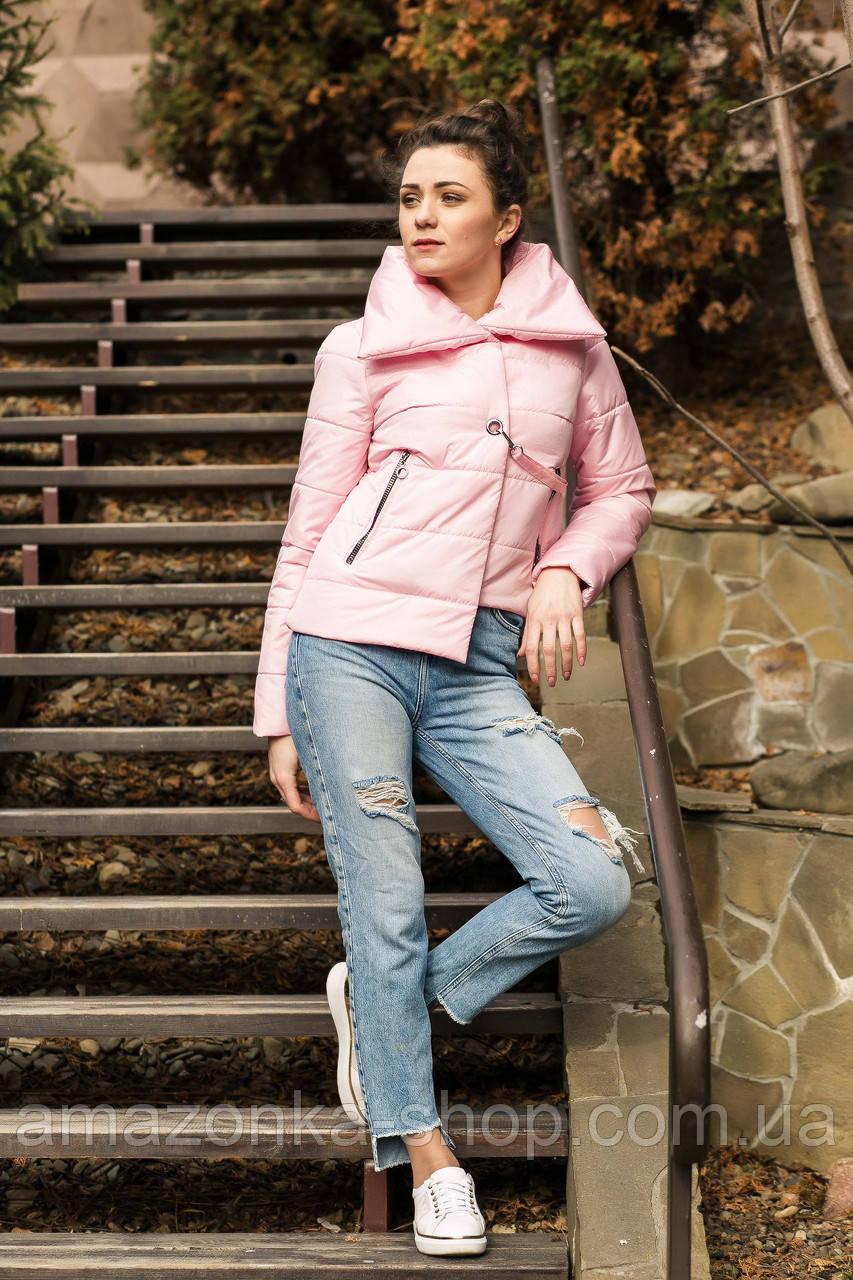 Стильная молодежная женская куртка - модель 2019 - (кт-450)