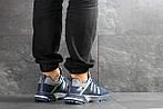Мужские кроссовки Adidas Fast Marathon (сине-белые), фото 2