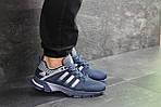 Мужские кроссовки Adidas Fast Marathon (сине-белые), фото 5