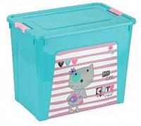"""Контейнер детский 40л """"Smart Box"""" Pet Shop 124049"""