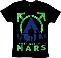 Футболка 30 Second To Mars, Размер XXL
