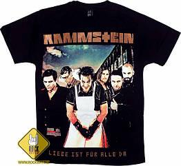 """Футболка Rammstein """"LIFAD"""", Размер L"""