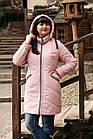 Женское весеннее пальто больших размеров - модель 2019 - (кт-456), фото 2