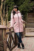Женское весеннее пальто больших размеров - модель 2019 - (кт-456), фото 1