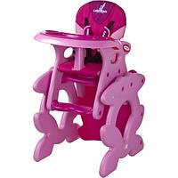Стульчик для кормления Caretero Primus (pink)