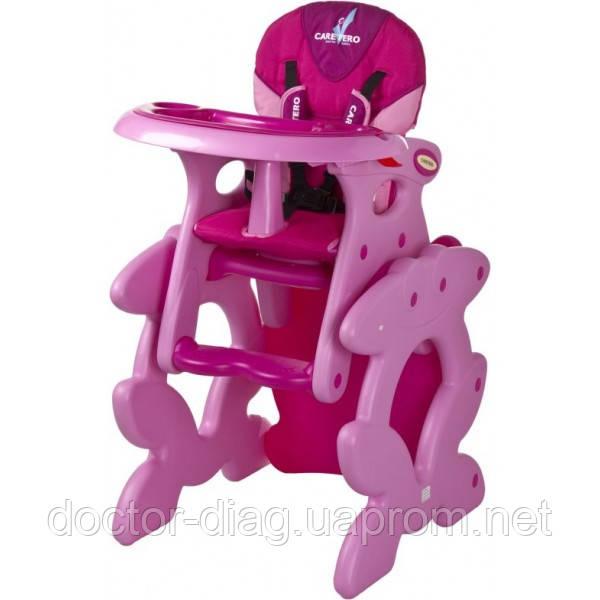 Стульчик для кормления Caretero Primus (pink) - Медтехника - интернет-магазин в Киеве