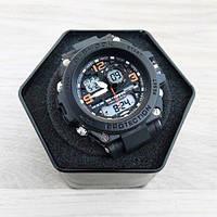 Наручные мужские часы Casio G-Shock GST-1000 Black-Orange