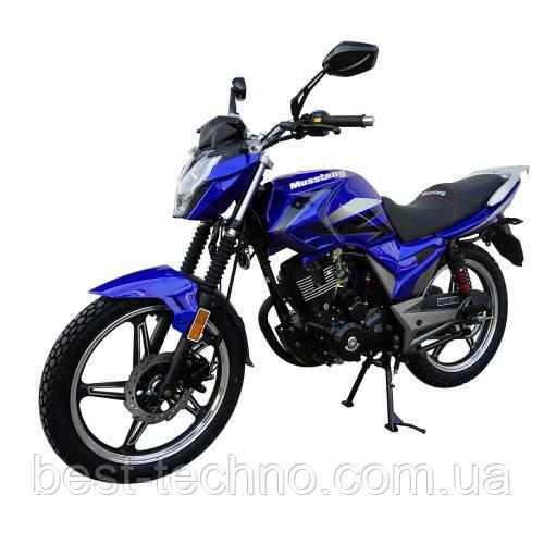 Мотоцикл Musstang Region МТ200-8 blue (Мусстанг Регион МТ200-8 синий 200 куб.см.)