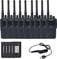 Комплект цифровой оперативной радиосвязи Puxing PX-800_VHF_9