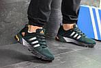 Мужские кроссовки Adidas Fast Marathon (темно-зеленые), фото 2