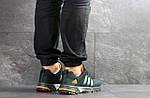 Мужские кроссовки Adidas Fast Marathon (темно-зеленые), фото 3