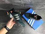 Мужские кроссовки Adidas Fast Marathon (темно-зеленые), фото 4