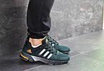 Мужские кроссовки Adidas Fast Marathon (темно-зеленые), фото 6