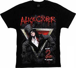 """Футболка Alice Cooper """"Welcome 2 My Nightmare"""", Размер L"""