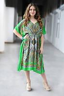 Летнее платье Гоа Middle салатовый