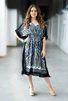 Летнее платье Гоа Middle черный