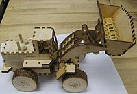 """3D конструктор """"Трактор с ковшем"""""""