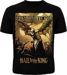"Футболка Avenged Sevenfold ""Hail To The King"", Размер S"
