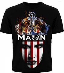 Футболка Marilyn Manson (корона), Размер XXL