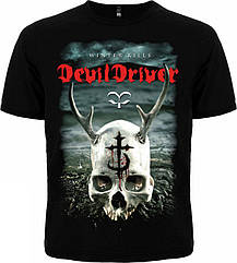 "Футболка DevilDriver ""Winter Kills"", Размер M"