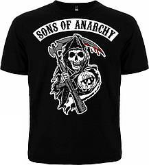 Футболка Sons Of Anarchy, Размер S