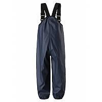 Синие непромокаемые брюки унисекс Reima Lammikko размеры 128 осень;зима;весна;лето девочка;мальчик TM Reima 522233-6980