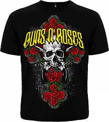 Футболка Guns'n'Roses (крест из роз), Размер S