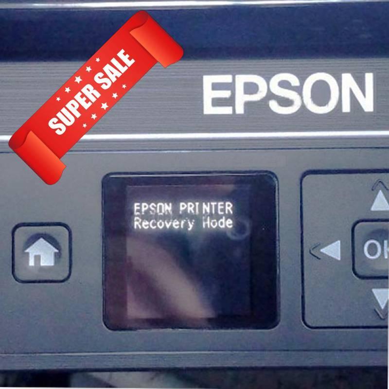 Epson Expression Home XP-342 сообщние EPSON PRINTER Recovery mode