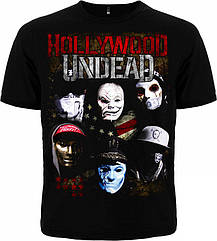 Футболка Hollywood Undead, Размер XXL