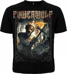 """Футболка Powerwolf """"Preachers Of The Night"""", Размер S"""