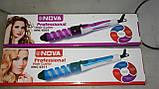Спиральная плойка для укладки волос NOVA (Нова), фото 4
