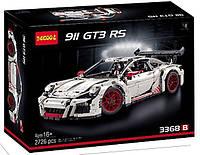 Конструктор Decool 3368 Porsche 911 GT3 RS Белый | аналогLe go Technic 42056 , 2726 дет.