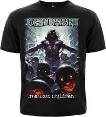 """Футболка Disturbed """"The Lost Children"""", Размер S"""