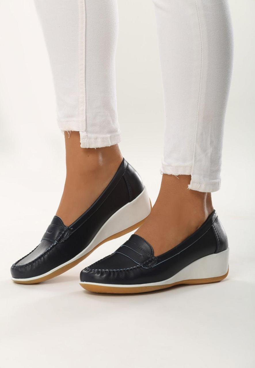 e62f9920f Темно-синие женские туфли на платформе 37 Vices - Интернет магазин