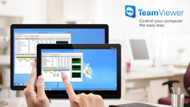 Мобильное приложение TeamViewer