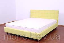 """Кровать """"Адалар"""" двуспальная с мягким изголовьем, фото 2"""