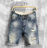 Джинсовые шорты мужские (модель DZ102) Размеры  - 28, 29, 30, 31, 40.