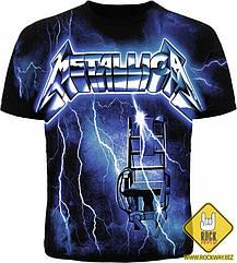 "Футболка Metallica ""Ride The Lightning"", Размер L"