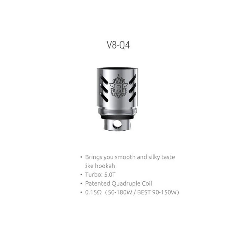 Сменный испаритель Smok TFV8 V8-Q4 Coil 0.15 Ом
