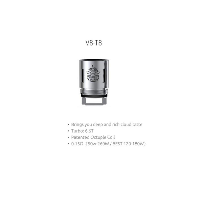 Сменный испаритель Smok TFV8 V8-T8 Coil 0.15 Ом