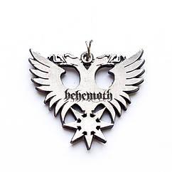 Кулон музыкальный Behemoth (eagle) орел, двусторонний с серебряным покрытием