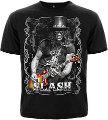 Футболка Slash (with guitar and cigarette), Размер S