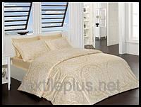 Постельное белье First choice сатин семейный размер Vanessa camel (kod 3936)