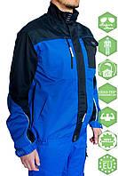 Куртка 4TECH 01 синьо-чорна